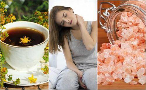 5 натуральних засобів, які лікують біль шиї