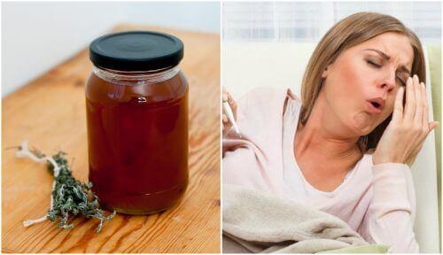 Натуральний сироп від кашлю з чебрецем та локрицею