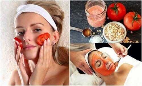 Засоби на основі томатів від акне та висипань на шкірі