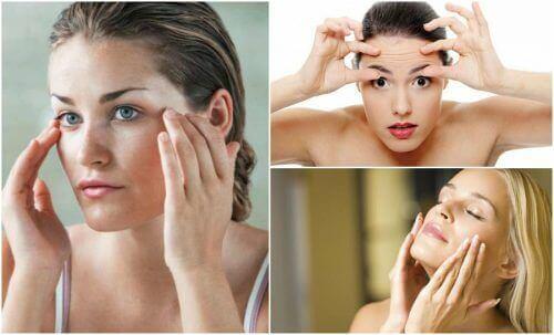 Вправи для профілактики обвисання шкіри на обличчі