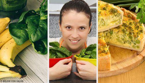 Страви зі шпинатом: насолода на кожен день