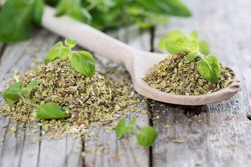 чай з орегано, щоб очистити травну систему