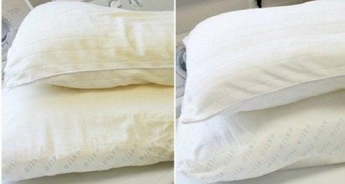 4 способи, як прати та дезінфікувати подушки