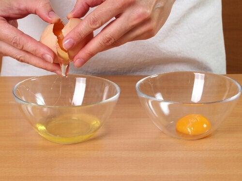 яєчні білки для волосся