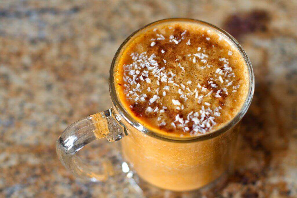 морквяне смузі з чіа