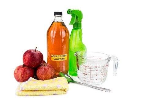 яблучний оцет і лимон