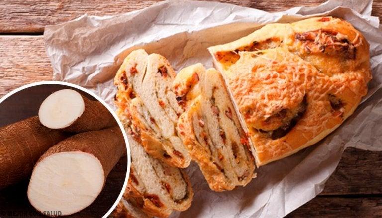 Хліб з касавою, вівсянкою та шоколадом без глютену та цукру