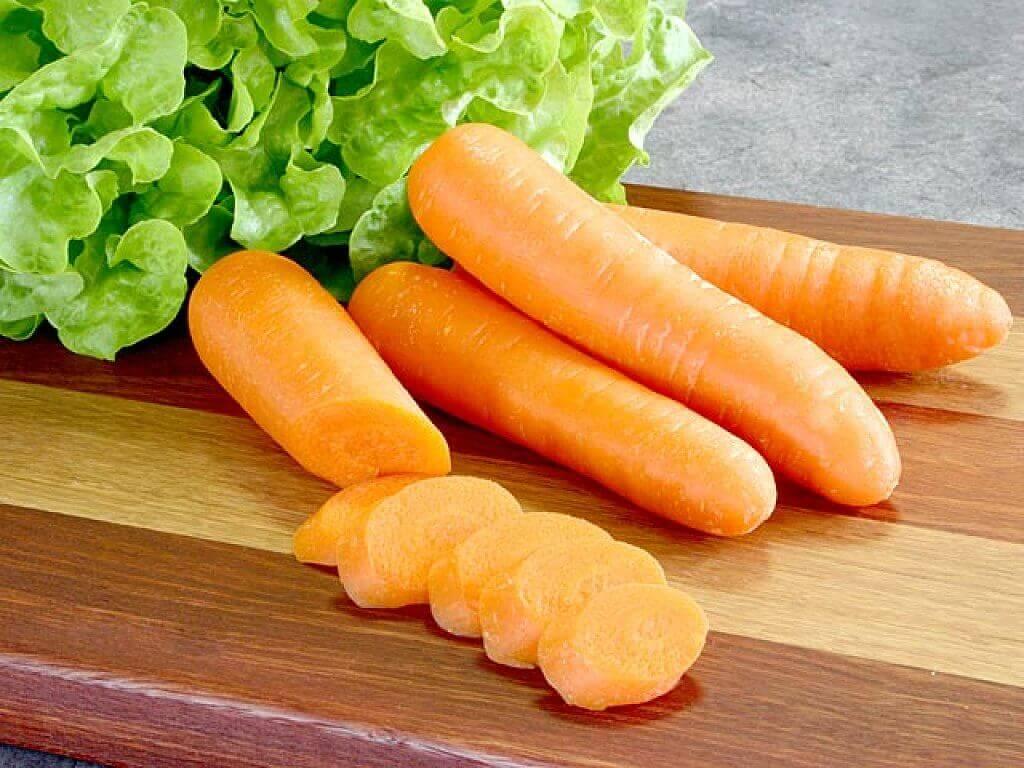 морква містить калій
