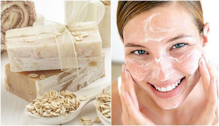 Мило для зволоження шкіри з вівсянкою та медом