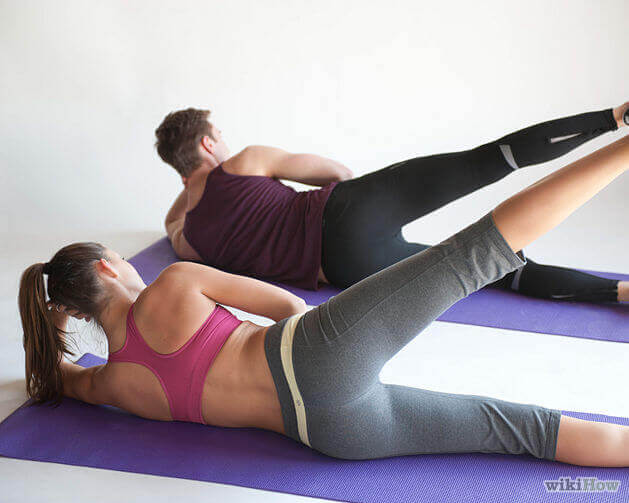 підйоми ніг для сексуальних форм