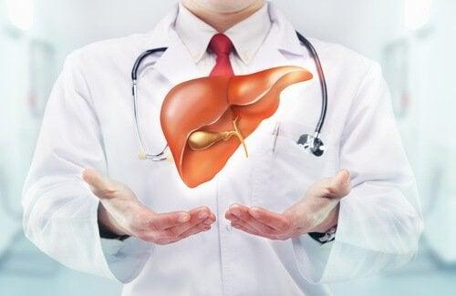 чай для покращення роботи печінки
