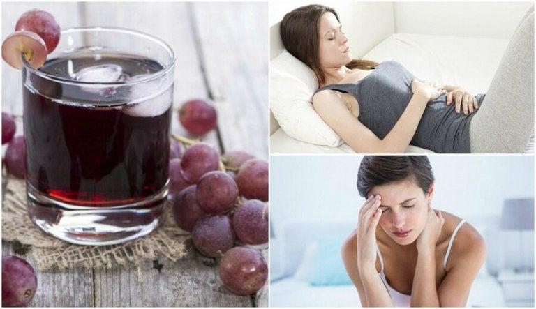 Переваги регулярного вживання виноградного соку