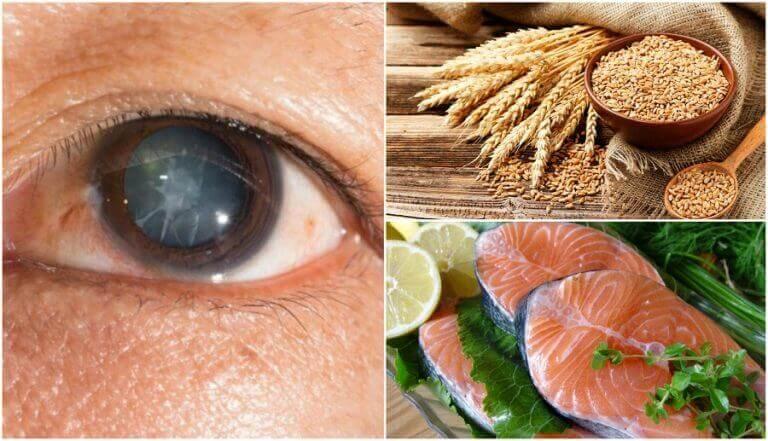 Корисні продукти для профілактики катаракти