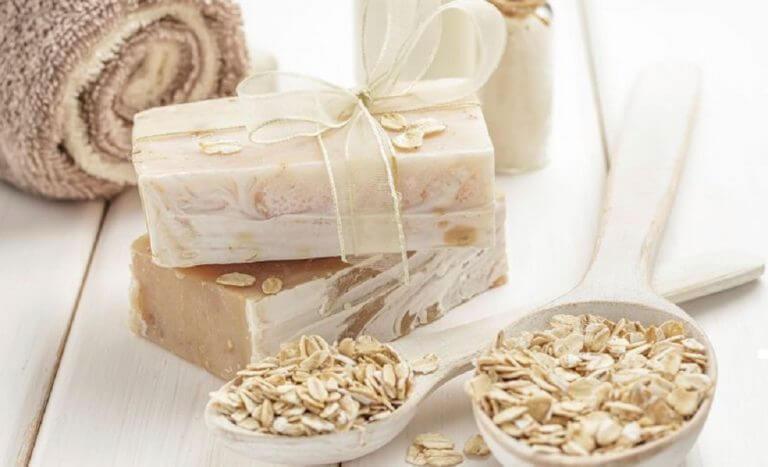 рецепт натурального мила з вівсянкою