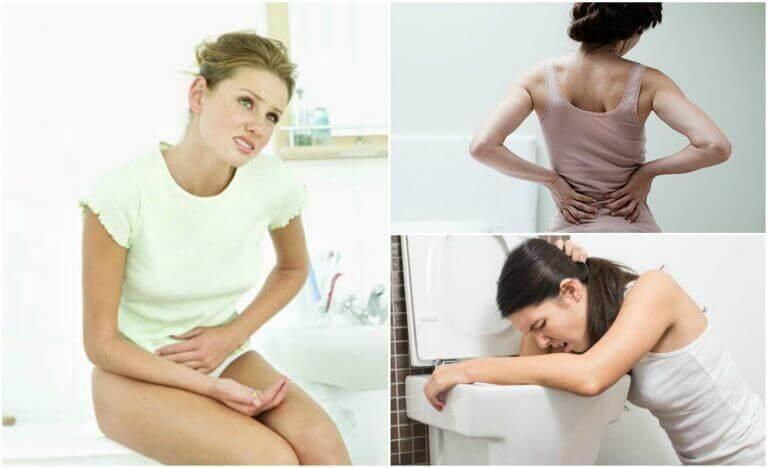 Основні симптоми каменів у нирках
