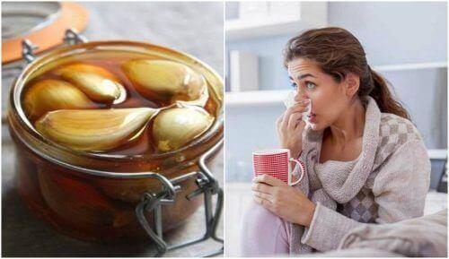 Засіб від утрудненого дихання з часником та медом