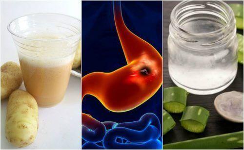 5 домашніх засобів для загоєння виразки шлунка