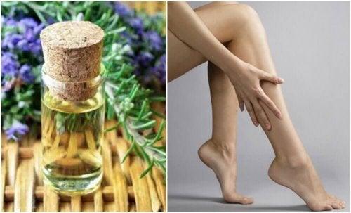 Зміцнювальна олія для ніг: рецепт приготування