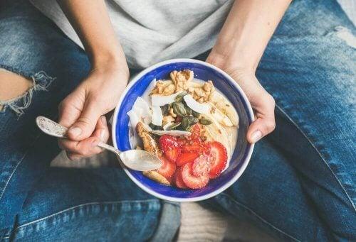 сніданок, щоб схуднути здоровим шляхом