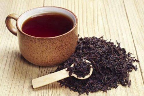 чорний чай для лікування абсцесу
