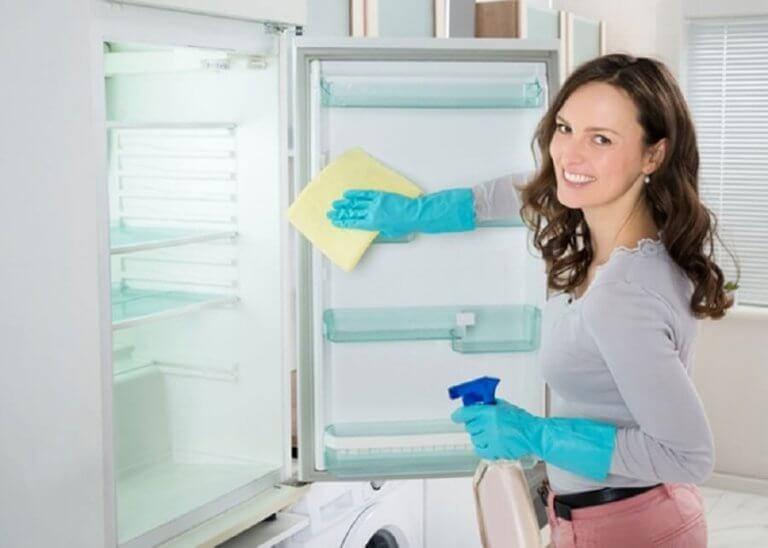 частини дому: холодильник та шафи