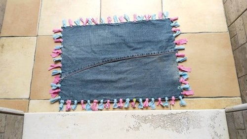 килимки зі штанів
