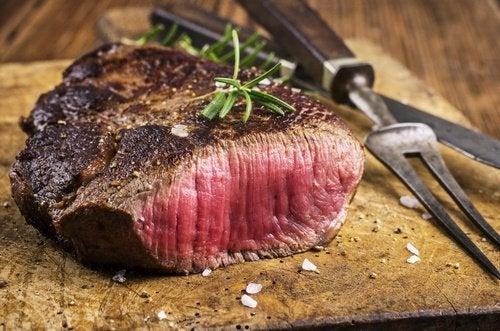 споживання червоного м'яса
