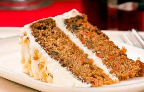 глазур для морквяного торта