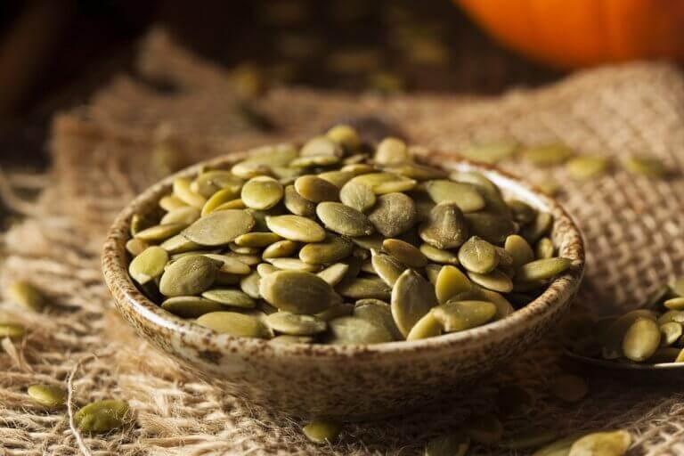 Три поживні страви з гарбузовим насінням