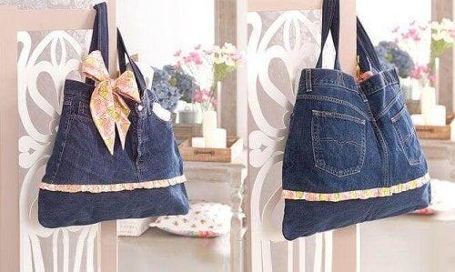 сумки зі старих джинсів