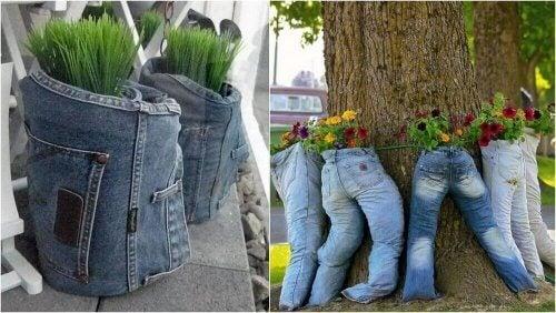 горщики із джинсів