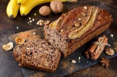 Банановий хліб з медом та корицею