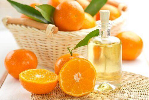 мандарин може захистити волосся від сонця