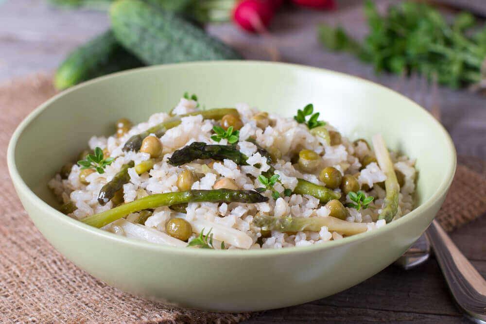 Безхолестериновий рис з овочами та насінням чіа