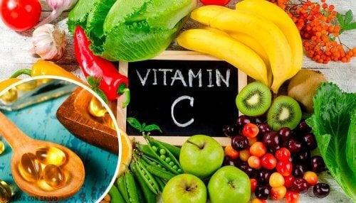 вітамін С від бластомікозу