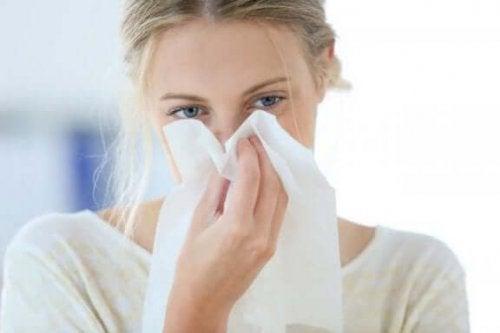 ефірні олії від закладення носа