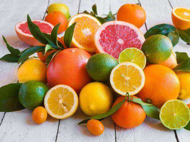 цитрусові фрукти для покращення зору