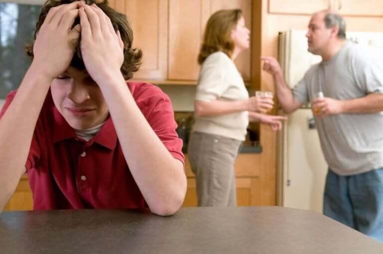 вплив конфліктів між батьками