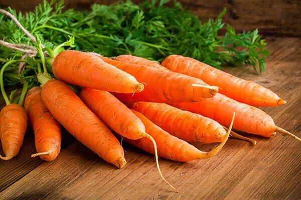 морква для покращення зору