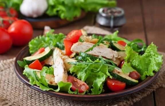 низькокалорійні страви з курятини