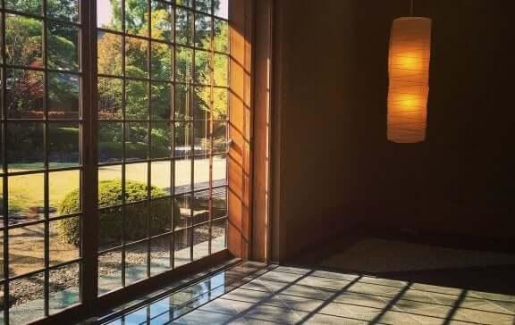двері в японському стилі