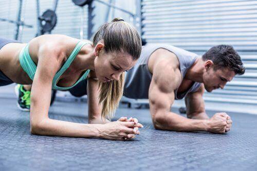 Біль у м'язах під час виснажливого тренування