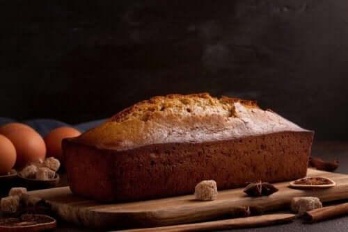 Пряний медовий пиріг