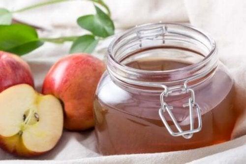 яблучний оцет для зменшення м'язових спазмів