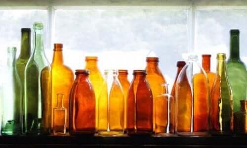 Як використовувати скляні пляшки для декорування