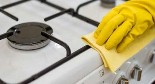 як природно очистити плиту
