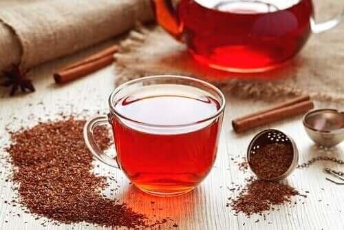 чай з ройбуша для лікування залізодефіцитної анемії