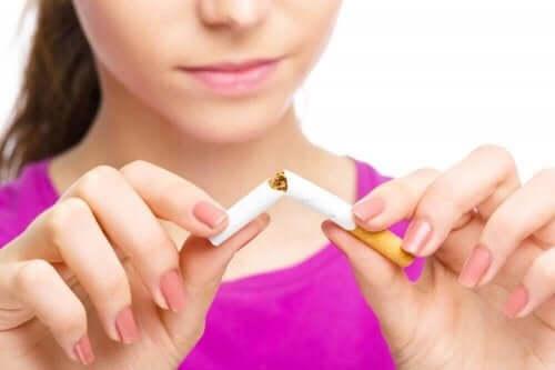 Відмова від куріння: позитивні зміни в організмі