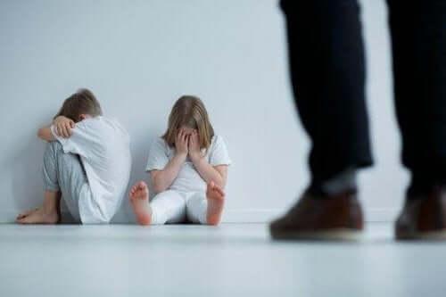 Ознаки фізичного насилля над дитиною