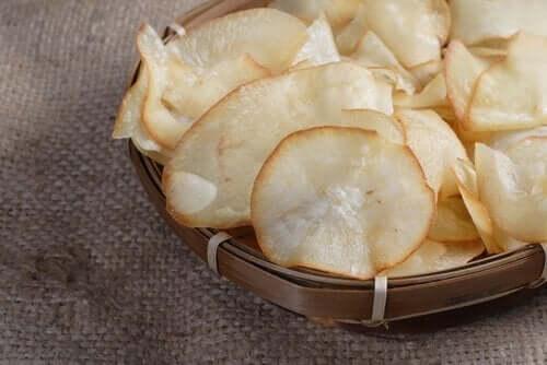 як приготувати баклажанові чипси